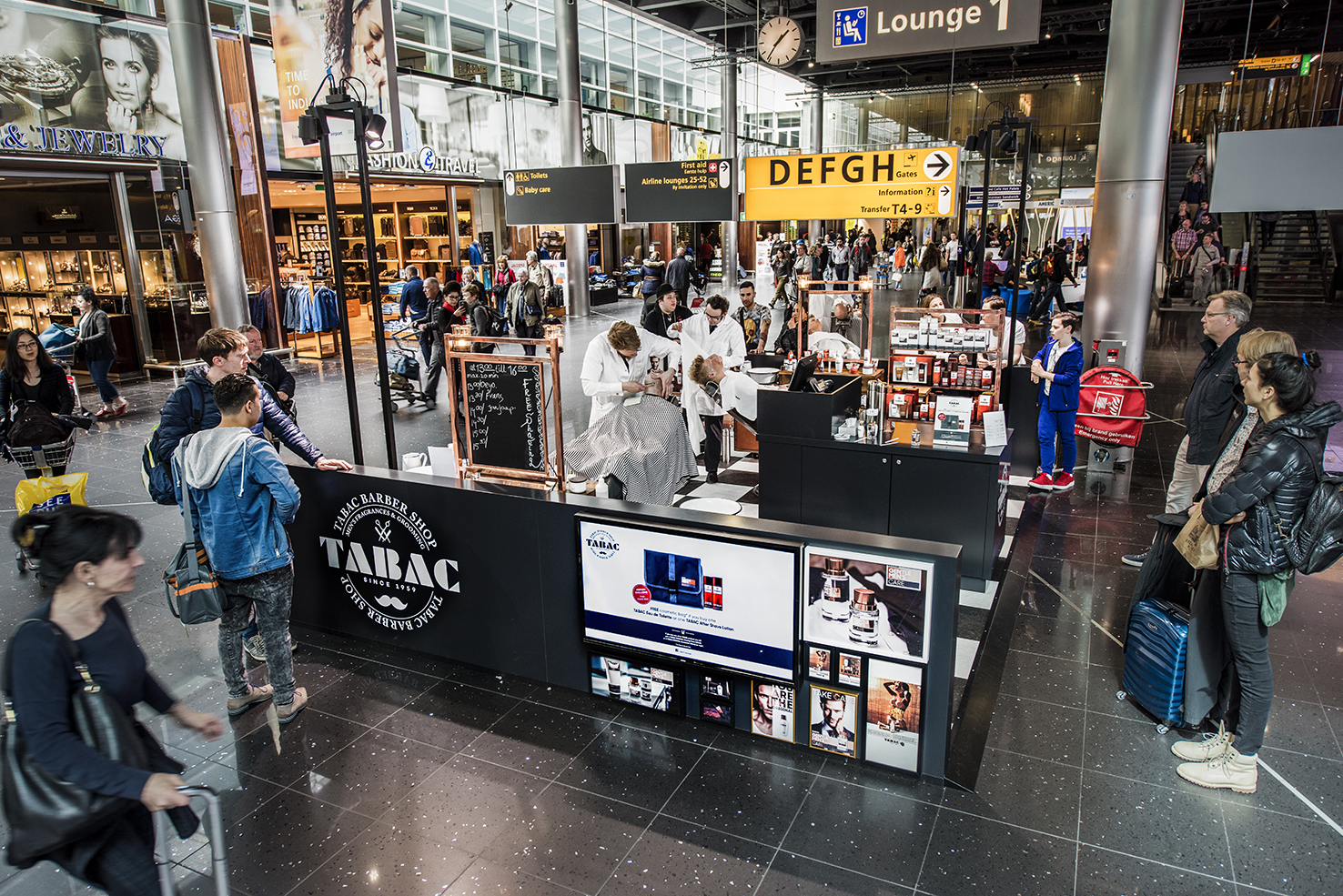 Tabac pop up - Amsterdam Airport Schiphol